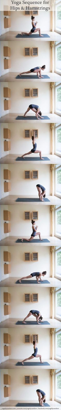 Yoga sequence for hips and hamstrings