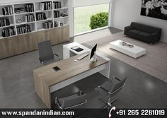 Home Office Design Modern is totally important for your home. Whether you pick the Corporate Office Interior Design or Decorating Big Walls Living Room, you will create the best Office Decor Professional Interior Design for your own life. Cool Office Desk, Modern Office Desk, Best Office Chair, Office Table, Office Desks, Office Spaces, Office Chairs, Contemporary Office Desk, Modern Home Office Furniture
