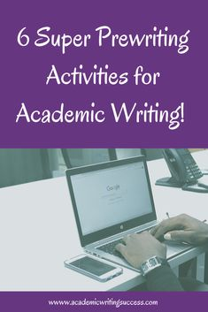 Do you struggle with coming up with ideas for essays and papers? Check out these 6 prewriting activities to help you find great topics. #prewriting #academicwriting #writingactivtes Short Story Writing Prompts, Writing Genres, Writing Topics, Pre Writing, Essay Topics, Academic Writing, Writing Process, Writing Skills, Essay Writing