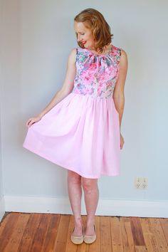 Felicity Dress Ladies PDF Sewing Pattern Multi Size 6 to 24