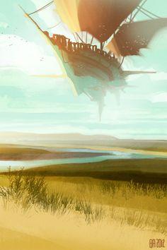 Concept Art by Ben Andrews