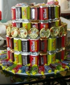 Yummy candy cakes
