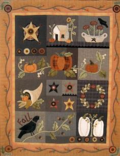 Autumn Quilt Block of the Month