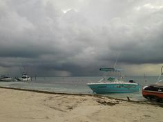 Last day at beach.  Another storm.
