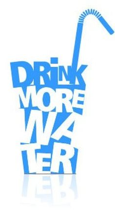 drink water | Always have water within reach. Fill up a one-liter bottle of water ...