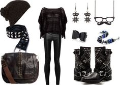 """""""black is the rainbow ."""" by cefacosa on Polyvore"""