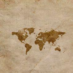 Charming Map #iPad #Wallpaper