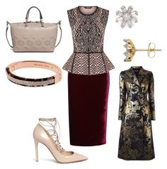 """""""Untitled #23820"""" by edasn12 ❤ liked on Polyvore featuring Roland Mouret, BCBGMAXAZRIA, Adina Reyter, Tory Burch, Dolce&Gabbana, Valentino and Michael Kors"""