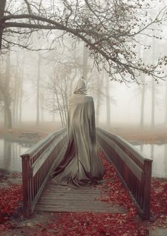 'tis time to don your cloak and go for a stroll through the autumn leaves....