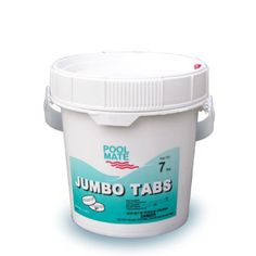"#garden #harvest #Pool Mate Jumbo Tabs are the strongest chlorine tablets available. Each 3"" 8 oz. tab is individually wrapped, stabilized, and slow dissolving. ..."