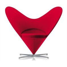 Vitra Heart Cone Chair by Verner Panton - #chairideas #chair #chairdesign #designideas #chairs
