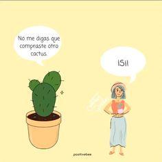 Cactus Illustration, Inspirational Phrases, Garden Shop, Cactus Y Suculentas, Instagram Blog, Product Label, Positive Life, Succulents, Memes