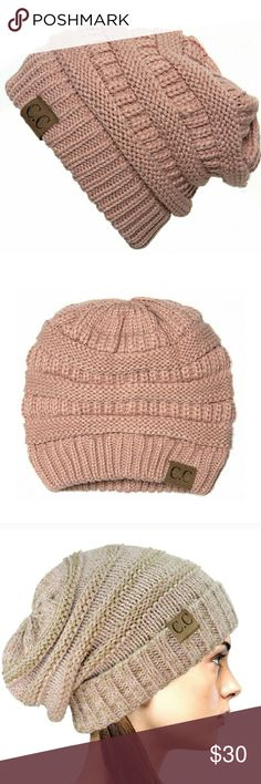 Rose Pink Slouchy 100% Acrylic Cable Knit Beanie This cute beanie is a must-have for any wardrobe! It's perfect fit will keep you warm and stylish, throughout the seasons! A timeless piece that you can mix and match with any outfit. Oh, and I mention it's extremely comfortable? 100% Acrylic. Please let me know if you have any questions. 30% discount when using the bundle feature. No trades! Goensshopping  Accessories Hats