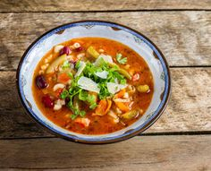 Vegetarian Minestrone [Slow Cooker]  Carbohydrates - 25.2g