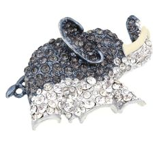 Send the Trend Elephant Brooch