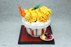 Lego Fried Shrimp Bowl