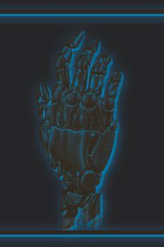 Just for Fun #robotic #bitmap #blue #electric #graphic #design Just For Fun, Alaska, Robot, Lion Sculpture, Electric, Hands, Graphic Design, Statue, Blue