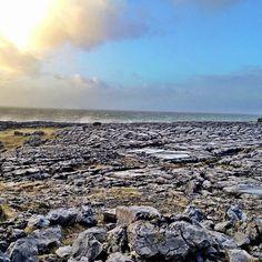 Burren National Park (The Burren) in Corofin, County Clare, Ireland