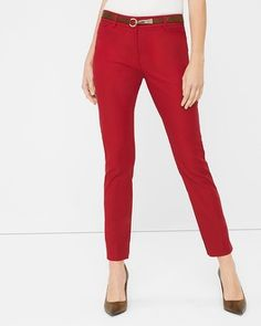 White House | Black Market Perfect Form Ankle Pants