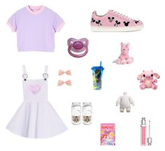 DDlg by silvia-parchao on Polyvore featuring MOA Master of Arts, Christian Dior and Disney
