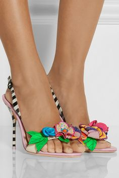 """Yes, I know they're expensive, but they go with practically everything, so in theory, they are like 5 shoes, which makes them practically a bargain. Sophia Webster """"Lilico"""" sandals, $595"""