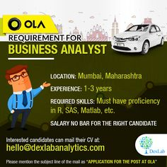 Requirement for #BusinessAnalyst