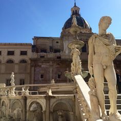Fontana Pretoria, Palermo, Sicilia