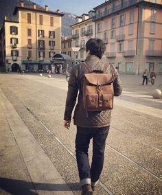 Repost @khein_lee ・・・ 걷고 또 걷고 #코모호수 #밀라노 #kjøre #lakecomo #lake #sun #como #italy #winter #italia #friends #korea #seoul #kjoreproject #survey #evolution #backpack #brown #premium #newzealand #natural #evolution #leather #love #minimal #design @kjoreproject