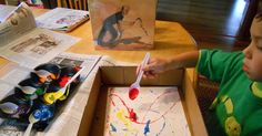 Create Art With Me!: 15 Minute Jackson Pollock Painting