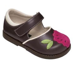See Kai Run Brown Mary Jane Girls Toddlers from seekairun.com - cool baby shoes, toddler shoes, kids shoes and baby booties.
