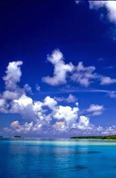 Sea view of Marshall Islands