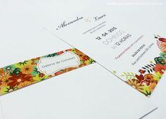 Convite casamento vintage - Galeria de Convites