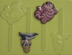 alice in wonderland candy molds | Details about ALICE in WONDERLAND Cheshire Cat Chocolate Soap Candy ...
