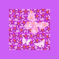 """""""Butterfly Trellis ..."""" Scarves by Wightstitches 