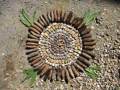MI LABORATORIO DE IDEAS: mandala da giardino Mandala, Lab, Mandalas