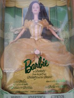 My first Barbie collector doll!