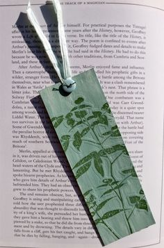 Country View Crafts' Projects: Stamped and embossed bookmark - Amanda