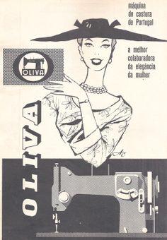 Oliva, a máquina de costura made in Portugal 1961