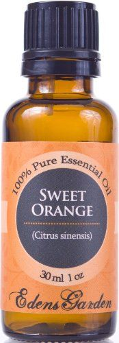 Sweet Orange 100% Pure Therapeutic Grade Essential Oil- 30 ml Edens Garden http://www.amazon.ca/dp/B00C2C3WZE/ref=cm_sw_r_pi_dp_W2Ttvb0MWP6F7