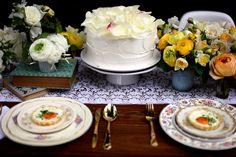 White Chocolate Rose Cake | by joy the baker