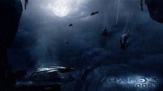 halo concept art   games landscapes rain halo halo odst spirit digital art concept art ...