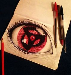 #sharingan #naruto perfect art...