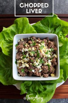 Chopped Liver – Traditional Jewish Recipe Chopped Liver – traditional recipe for chopped chicken livers with schmaltz and gribenes. Deli-style Jewish holiday recipe for Passover, Rosh Hashanah, or just because. Chicken Liver Recipes, Chicken Liver Pate, Chicken Livers, Joe Wicks, Kosher Recipes, Cooking Recipes, Healthy Recipes, Passover Recipes, Jewish Recipes