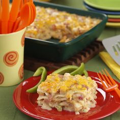 A signature Ro*Tel recipe--a creamy, cheesy and easy casserole with that special 'kick' coming from Ro*Tel tomatoes and green chilies