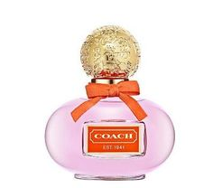 Coach Poppy 1.7 Oz Eau De Parfum Spray Youthful and Spirited Fragrance. Style: Flirty. Fashionable. Fun. A youthful and spirited fragrance, the initial spray of this fruity-floral scent delights with bright cucumber flower petals, juicy mandarin, and the sparkling freshness of bright baby freesia buds. In the heart notes, a lush bouquet comes forward, including petally jasmine, pink water lily, Southern gardenia, and the petals of red candied rose. A sweet depth wraps around these floral...