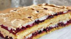 """Tortul """"Pani Walewska"""" este un desert polonez si este o combinatie perfecta de blat fraged cu fructe de padure, bezea crocanta cu nuci si crema fina de vanilie. Cu un pic de rabdare veti reusi"""