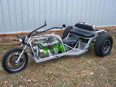 Homemade Motorcycle Trikes | galleryhip.com - The Hippest