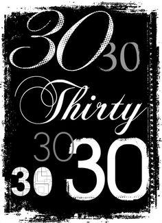 Check out these #30thbirthdayideas #30thbirthdayinvitation by PurpleTrail.com