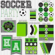 Fútbol Partido Imprimibles