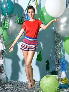 Lookbook - Plains and Prints Waist Skirt, High Waisted Skirt, Colour Field, Casual Outfits, Mini Skirts, Shorts, Holiday, Prints, Color